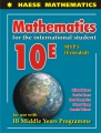 Mathematics for the international student 10E, MYP 5 (extended)