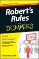 Product Robert's Rules for Dummies + Website