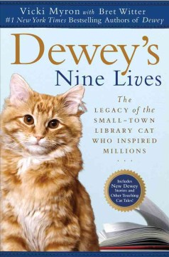 Cover image for Dewey's Nine Lives