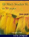IB math studies SL in 50 pages