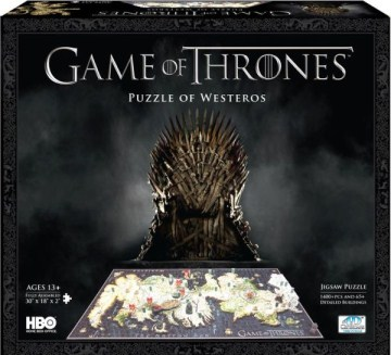 4d Game of Thrones Westeros