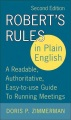 Product Robert's Rules In Plain English