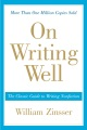 Product On Writing Well: The Classic Guide to Writing Nonfiction