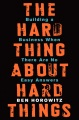 Product The Hard Thing About Hard Things