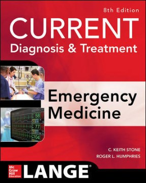 Product Current Diagnosis & Treatment: Emergency Medicine
