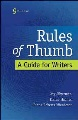 Product Rules of Thumb: A Guide for Writers