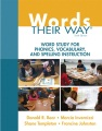 Product Words Their Way: Word Study for Phonics, Vocabulary, and Spelling Instruction