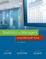 Product Statistics for Managers Using Microsoft Excel