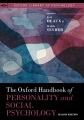 Product The Oxford Handbook of Personality and Social Psyc