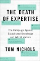 Product The Death of Expertise