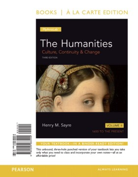 Product The Humanities: Culture, Continuity & Change: 1600 to the Present