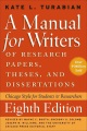 Product A Manual for Writers of Research Papers, Theses, and Dissertations: Chicago Style for Students and Researchers