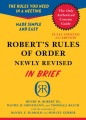 Product Robert's Rules of Order
