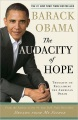 Product The Audacity of Hope