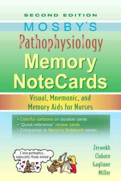 Product Mosby's Pathophysiology Memory Notecards: Visual, Mnemonic, and Memory Aids for Nurses