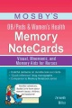 Product Mosby's OB/Peds & Women's Health Memory Notecards: Visual, Mnemonic, and Memory Aids for Nurses