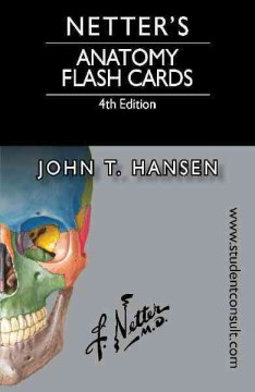 Product Netter's Anatomy Flash Cards