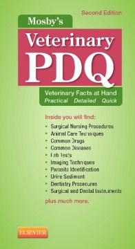 Product Mosby's Veterinary PDQ: Veterinary Facts at Hand Practical - Detailed - Quick