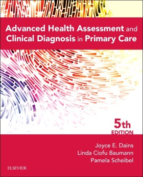 Product Advanced Health Assessment and Clinical Diagnosis in Primary Care