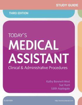 Product Today's Medical Assistant: Clinical and Administrative Procedures