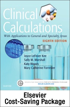 Product Clinical Calculations: With Applications to General and Specialty Areas