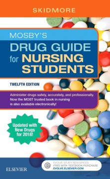 Product Mosby's Drug Guide for Nursing Students: Updated With New Drugs for 2018!