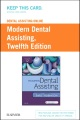 Product Dental Assisting Online for Modern Dental Assisting Access Card