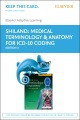 Product Elsevier Adaptive Learning for Medical Terminology & Anatomy for Coding - Access Card
