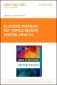 Product Nursing Key Topics Review Mental Health Elsevier E