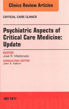 Product Psychiatric Aspects of Critical Care Medicine: Update