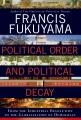 Product Political Order and Political Decay
