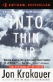 Product Into Thin Air: A Personal Account of the Mt. Everest Disaster
