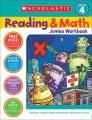 Product Scholastic Reading & Math Jumbo Workbook Grade 4