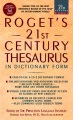 Product Roget's 21st Century Thesaurus in Dictionary Form