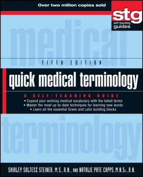 Product Quick Medical Terminology: A Self-Teaching Guide