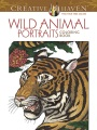Product Wild Animal Portraits Adult Coloring Book
