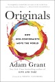 Product Originals: How Non-Conformists Move the World