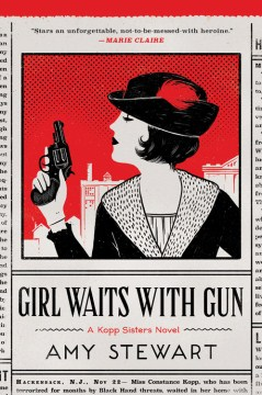 Product Girl Waits with Gun