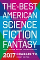 Product The Best American Science Fiction and Fantasy 2017