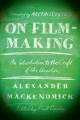 Product On Film-making