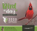 Product Bird a Day Eastern & Central North America 2020 Interactive Daily Calendar