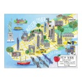 Product New York City Map: 1000 Piece Puzzle