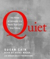Product Quiet: The Power of Introverts in a World That Can't Stop Talking