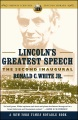Product Lincoln's Greatest Speech: The Second Inaugural
