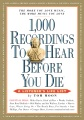 Product 1,000 Recordings to Hear Before You Die