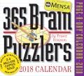 Product Mensa 365 Brain Puzzlers 2018 Calendar