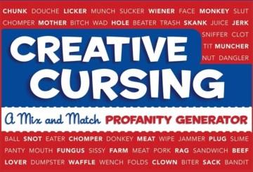 Product Creative Cursing: A Mix 'n' Match Profanity Generator