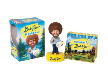 Product Bob Ross Bobblehead: With Sound!