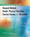 Product Essentials of Research Methods in Health, Physical