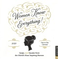 Product Women Know Everything! 2020 Calendar